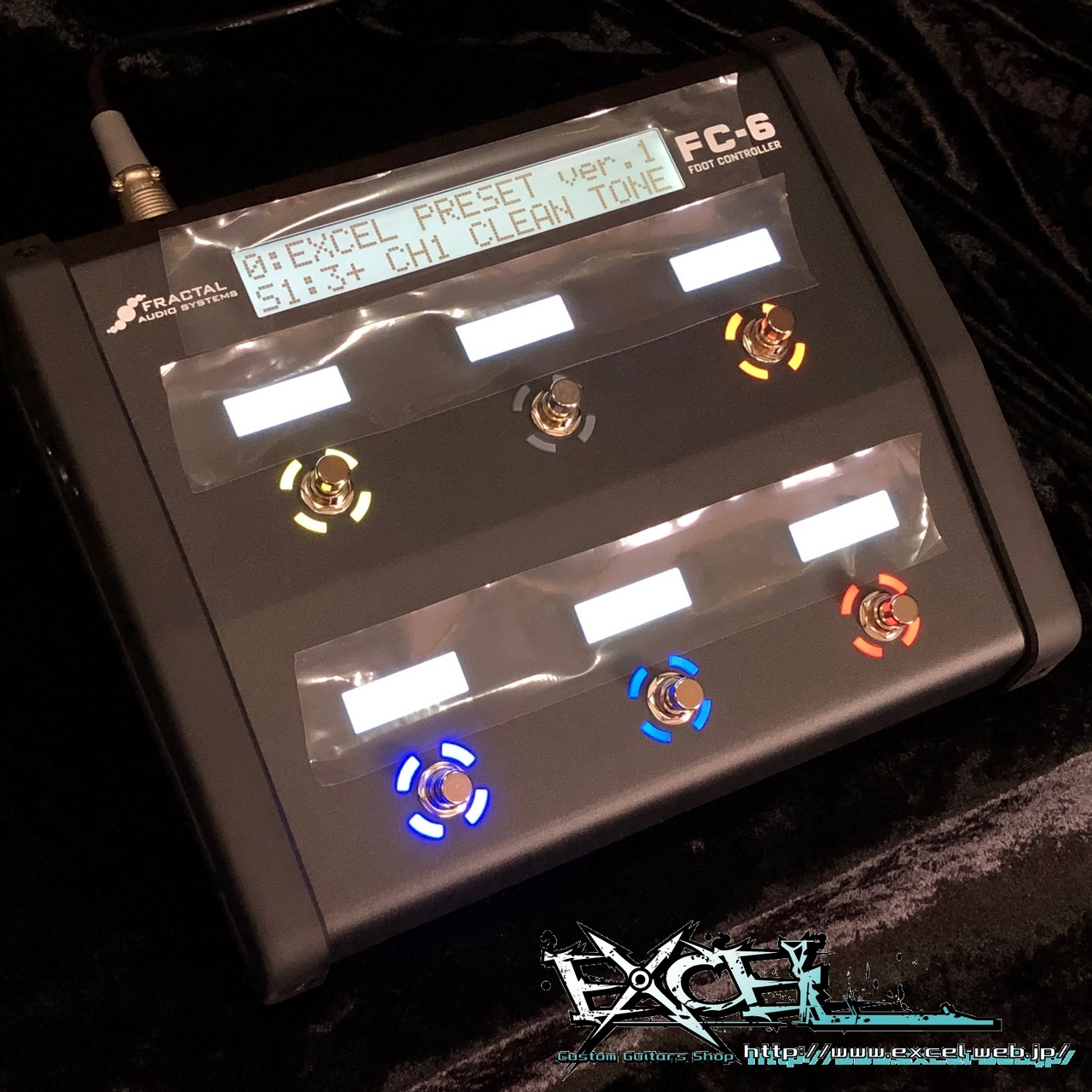 FRACTAL AUDIO SYSTEMS FC-6(「AXE-FX III」用コントローラー