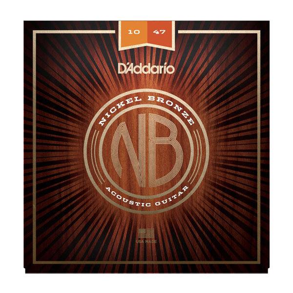 D/'Addario NB1047 10-47 Nickel Bronze Acoustic Extra Light