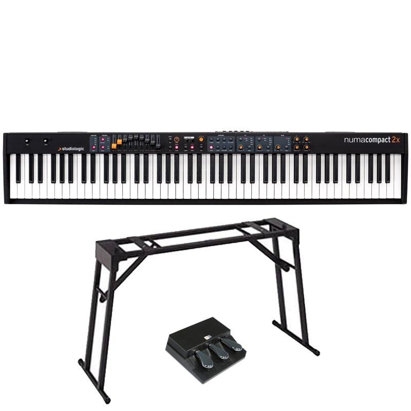 studiologic numa compact 2x 3本ペダルセット ステージ ピアノ