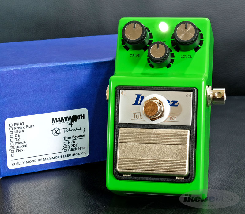 Mammoth Electronics TS-9 Baked Mod with 3PDT True Bypass