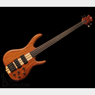 KenSmith BSR4GNF-IN (Imbuia Top & Back, Lined-Fretless) '15 【USED】
