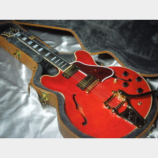 Gibson Memphis ES-355 Bigsby Antique Red