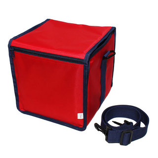production dessinee 45 Bag III(PDG-056PRN[Red x Navy])