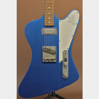 RS Guitarworks TeeByrd 60's Blue Sparkle Medium