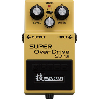 BOSS SD-1W SUPER OverDrive 技 Waza Craft 【福岡パルコ店】