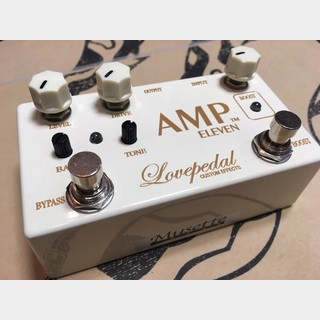 Lovepedal AMP ELEVEN CREAM
