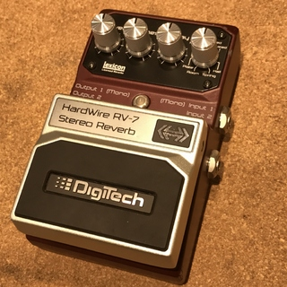 DigiTech USED/HARDWIRE/RV-7/StereoReverb