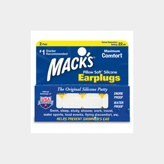 Mack's Ear Plugs Pillow Soft Silicone Earplugs 耳栓
