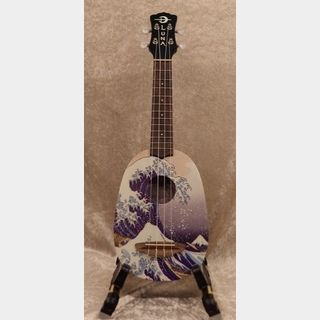 Luna Guitars Artistic Great Wave Soprano