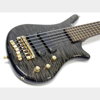 Warwick Custom Shop Thumb Bass BO 6st / Nirvana Black High Polish