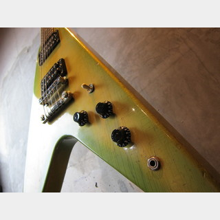 Gibson USA Flying V 1984 Green Burst