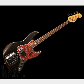 "Fender Custom Shop MBS 1964 Jazz Bass ""Journeyman Relic"" (Black) / Masterbuilt by Dennis Galuszka"