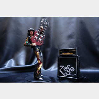 Jimmy Page Double Neck Artist Figure