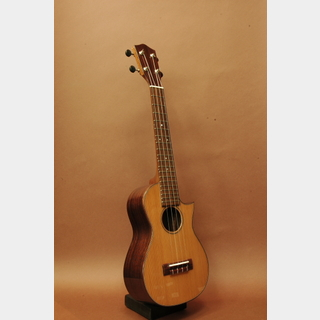 ASTURIAS(アストリアス) Solo Ukulele TT Cafe Model 2 Soprano Long Neck