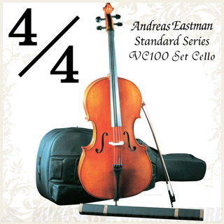 Andreas Eastman  Standard series VC100 セットチェロ (4/4サイズ/身長160cm以上目安)