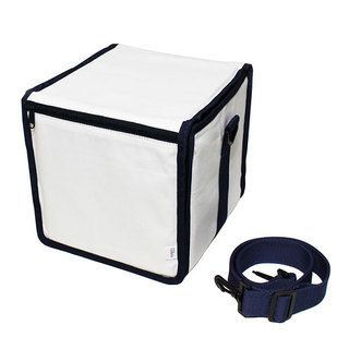 production dessinee 45 Bag III(PDG-056CWN[White x Navy])