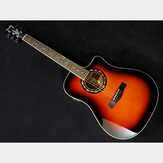 Fender Acoustics T-Bucket 300CE Flame Maple, 3-Color Sunburst【アウトレット特価!!】