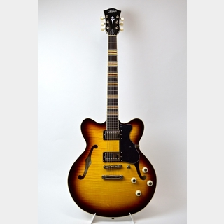 Hofner VERYTHIN GTR / Sunburst