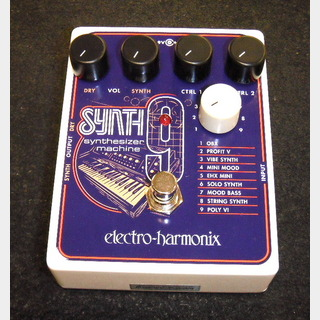 Electro-Harmonix SYNTH9 Synthesizer Machine 【シンセサイザー・シミュレーター】[DM500]