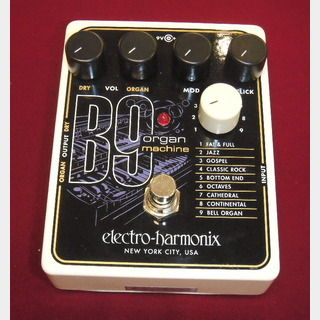 Electro-Harmonix B9 Organ Machine 【JAZZ系オルガン・シミュレーター】[DM500]