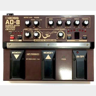 BOSS AD-8 Acoustic Guitar Processor 【中古品】