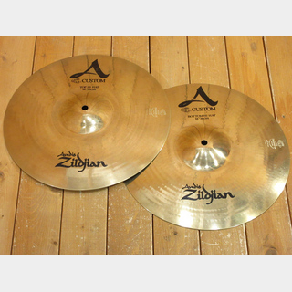 "Zildjian A CUSTOM HI-HAT 14"" TOP + BOTTOM セット"