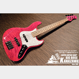 EDWARDS E-BUZZ BASS【久々の入荷! シースルーピンク!】