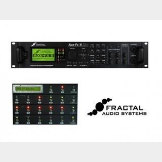 FRACTAL AUDIO SYSTEMS Axe-FxII XL+ & MFC-101 MARK III MIDI Foot Controller set 【送料無料(離島は除く)】
