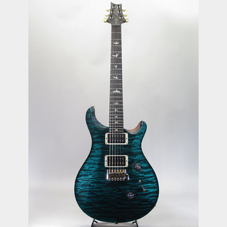 Paul Reed Smith(PRS) Wood Library Japan Limited Custom 24 PS Grade Blackwood Fingerboard Turquoise A.Natural Back