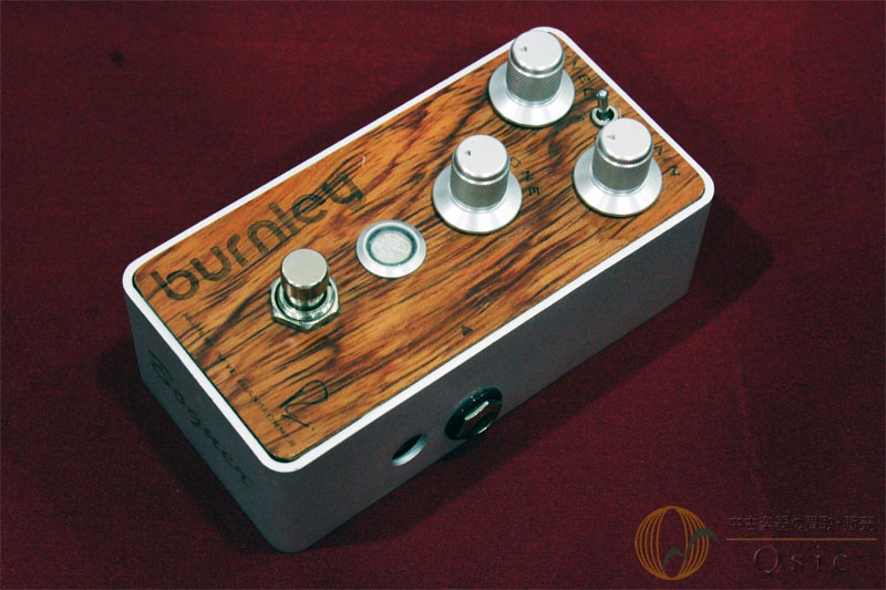 Bogner BURNLEY Distortion Bubinga exotic hardwood top panel [TF132]