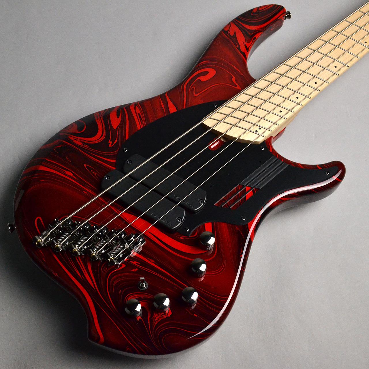 "DINGWALL NG-2 5 String ""Nolly Getgood"" / Ferarri Red Swirl"