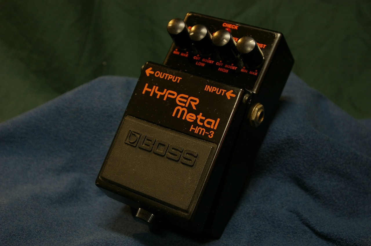 "BOSS HM-3 HYPER Metal ""MADE IN TAIWAN"""
