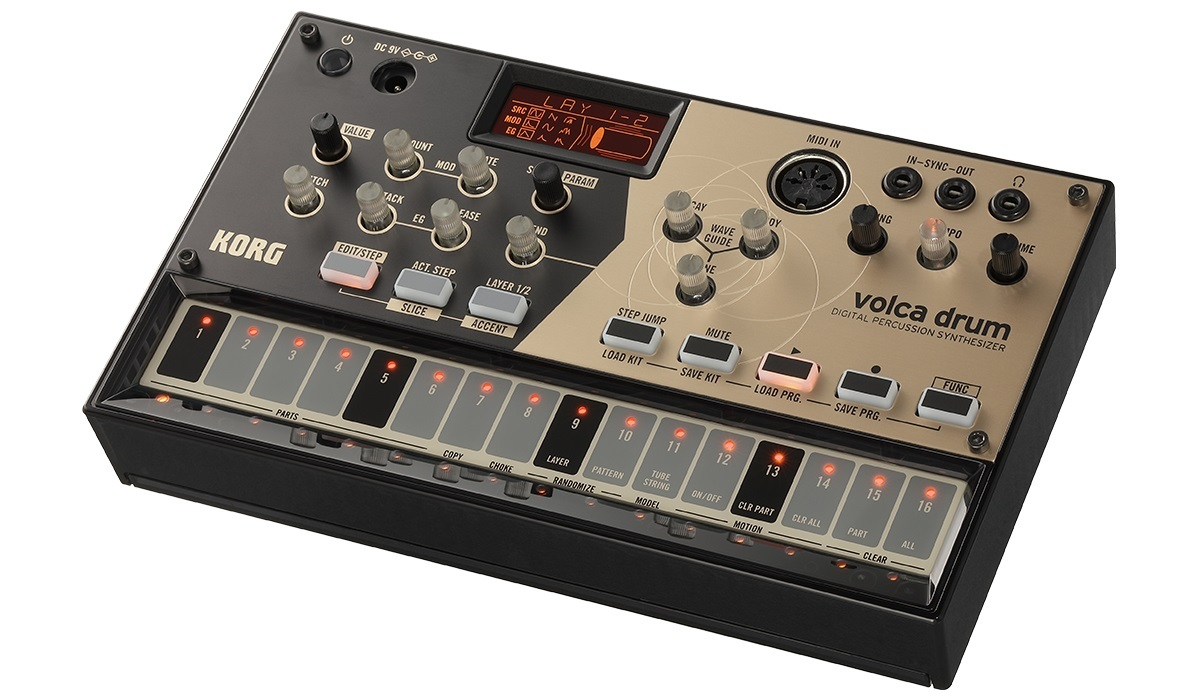 KORG volca drum [digital percussion synthesizer