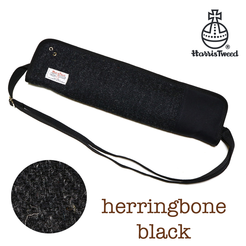 Harris Tweed Stick Case | HT-SC1 BK [Harris tweed stick case in stock!]