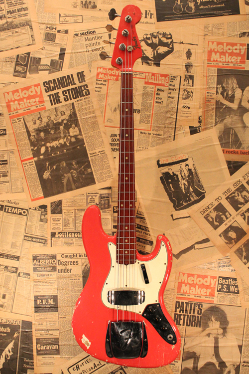 "Fender 1965 Jazz Bass ""Original Fiesta Red Finish"""