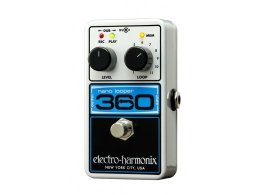 Electro-Harmonix Nano Looper 360 compact and affordable pedal looper - Sale special price!]