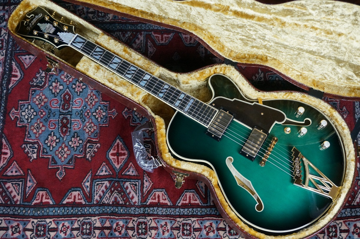 D'Angelico NYSS-3B / Vintage Blue [mellow tone !! popular NYSS-3B !! beautiful vintage blue-collar !! with a core]