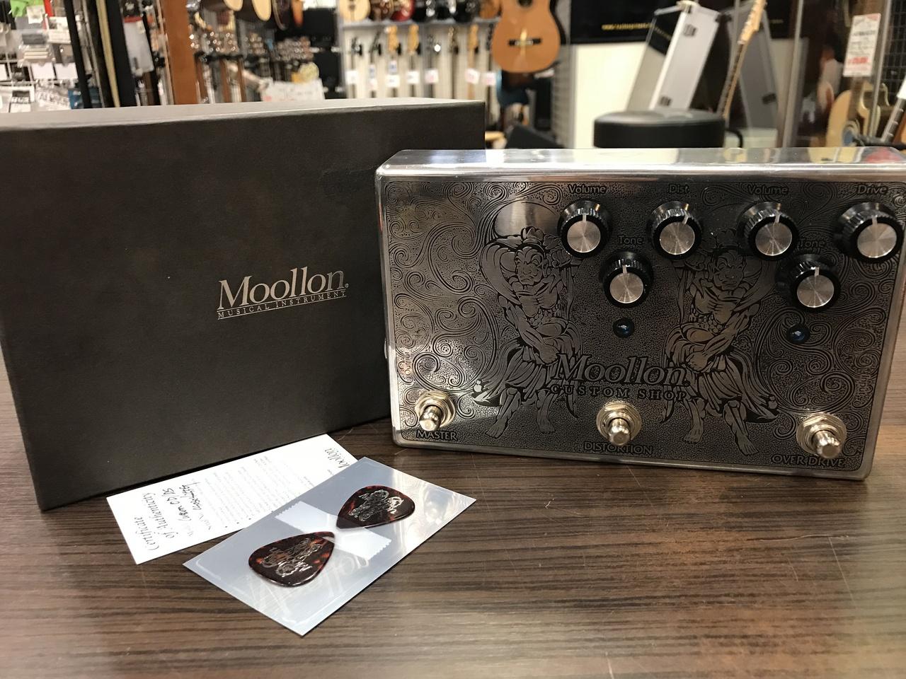 MOOLLON Custom Shop Overdrive+Distortion 【アウトレット特価】