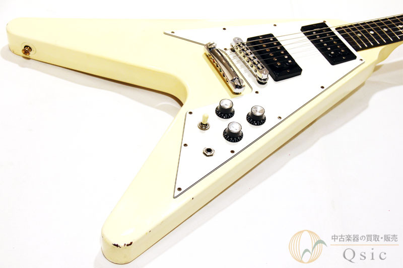 Gibson Flying V '67 Classic White made 1994 [Return OK] [OE053]