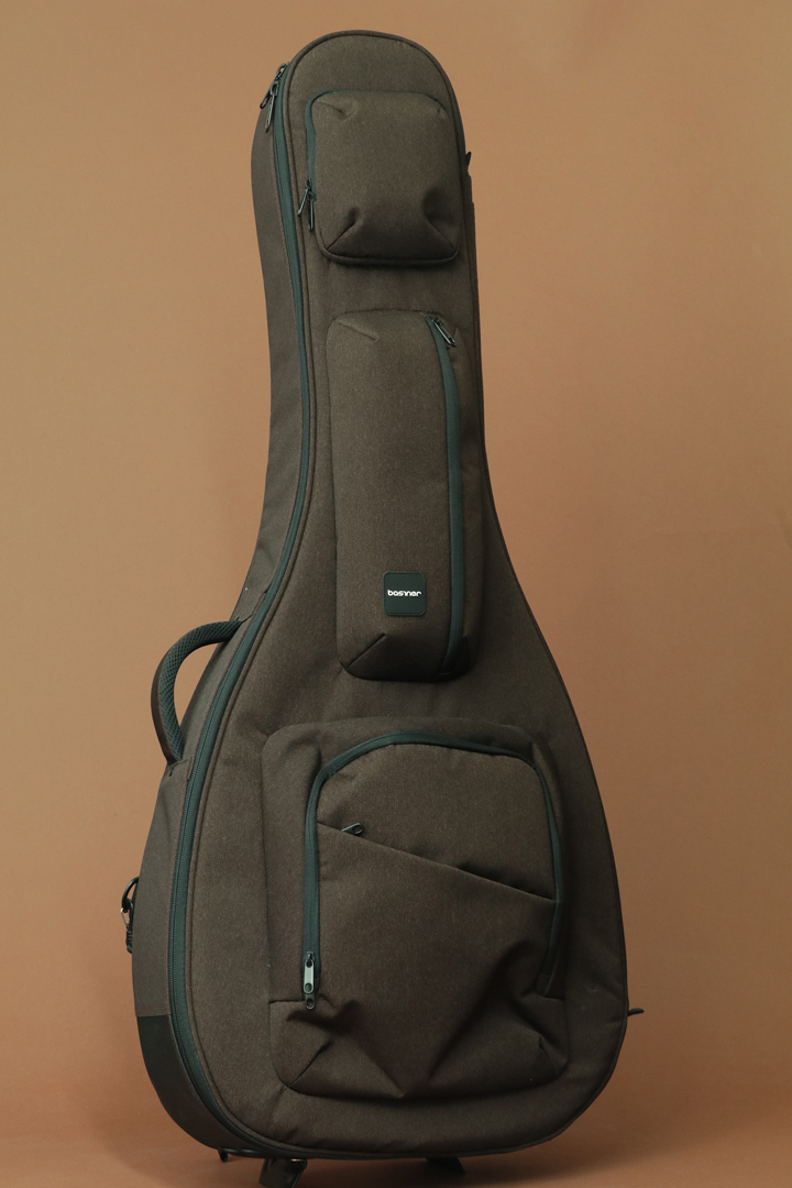 Basiner ACME-AC-RB锈褐色木吉他案例