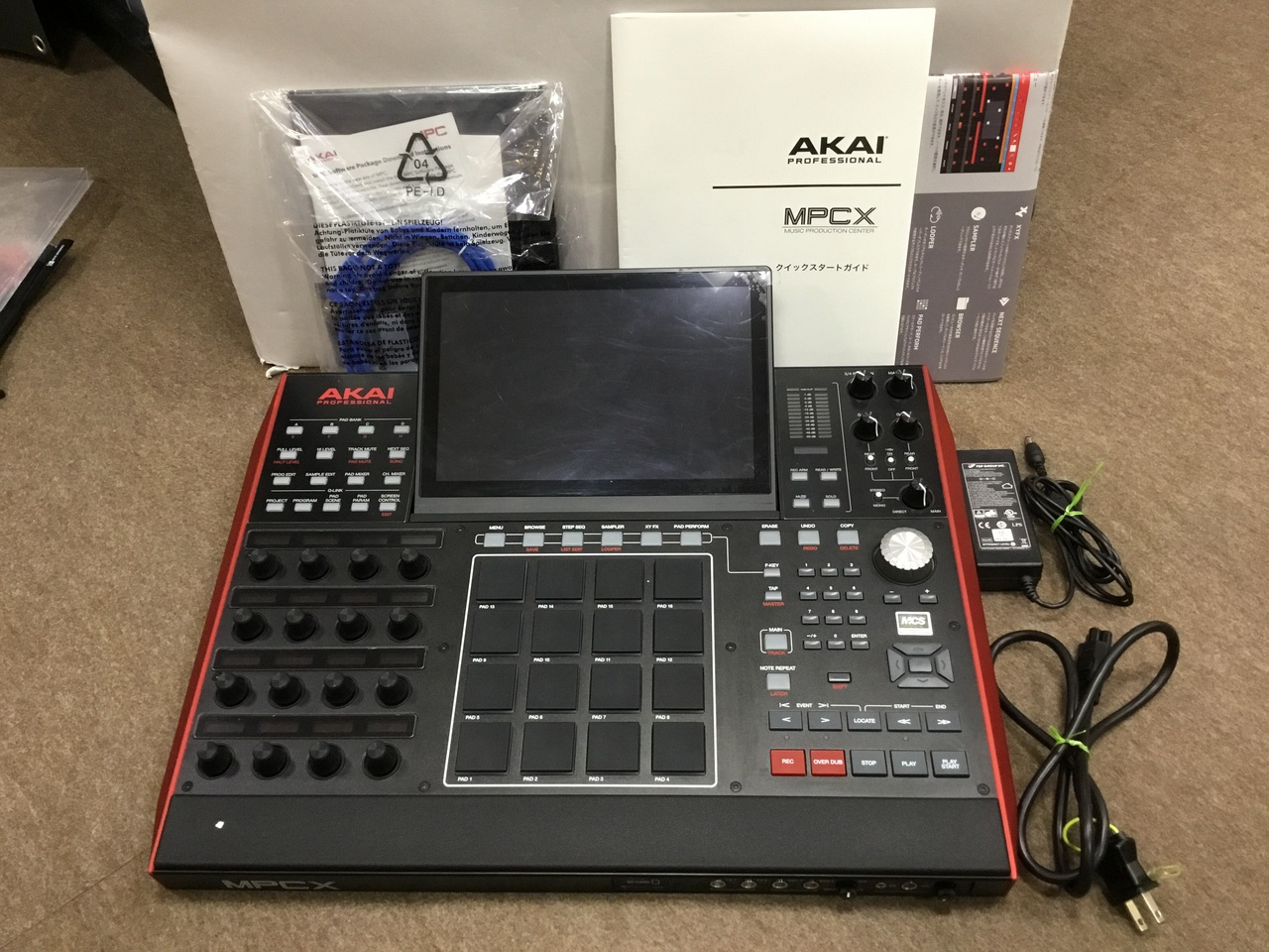 AKAI MPC X over-the-counter exhibits Sale