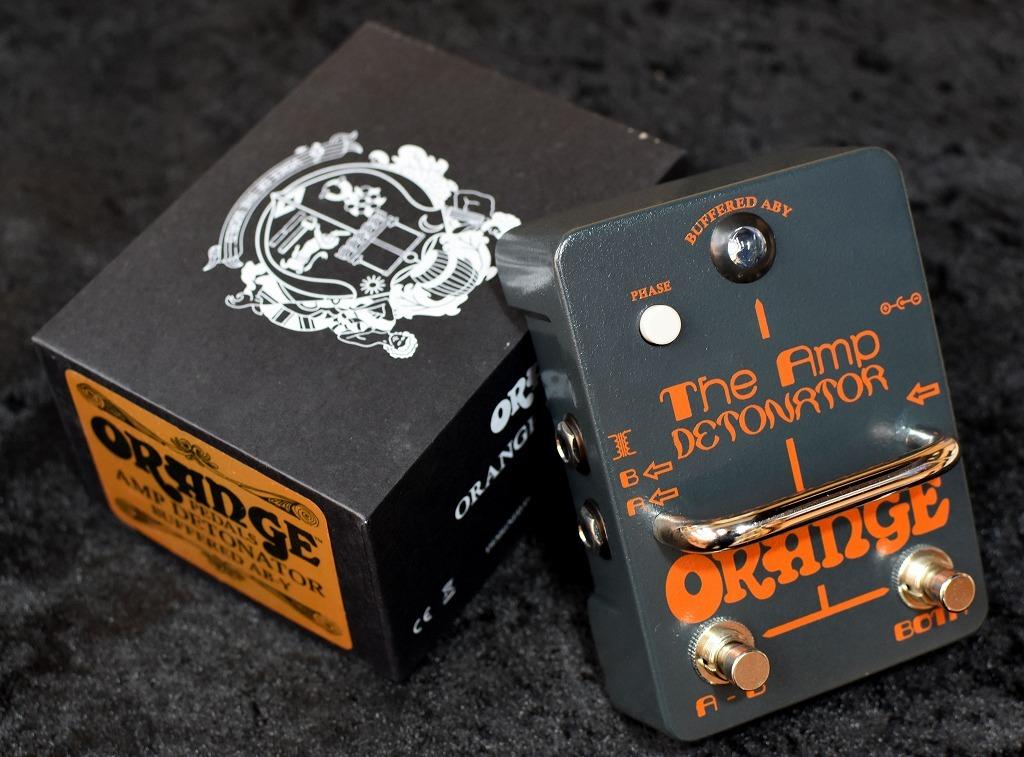 ORANGE Amp Detonator Buffered AB-Y switcher pedal 【】【即納可能】【バッファー搭載】