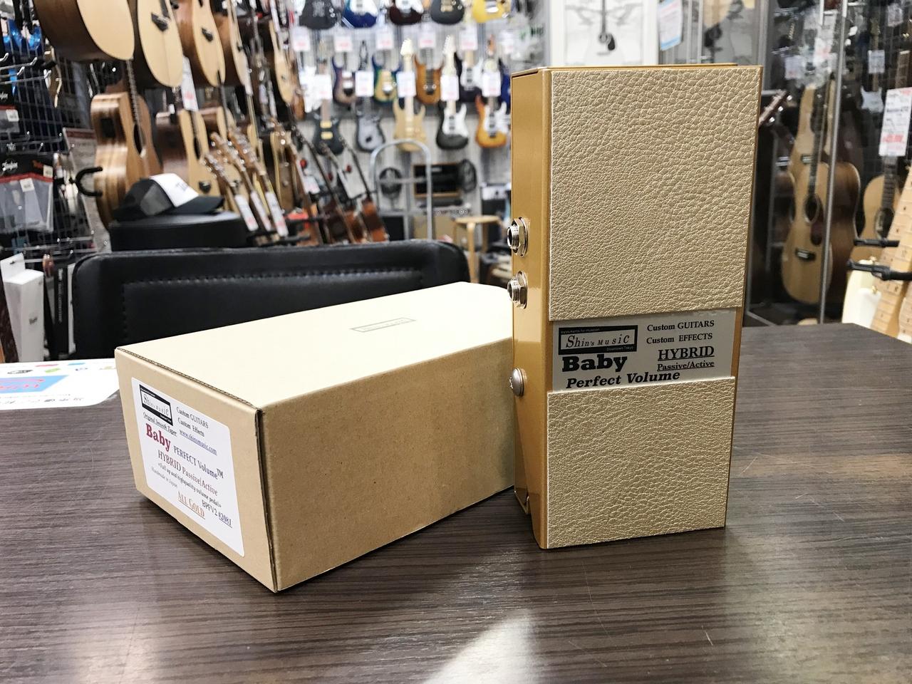 Shin's Music Baby Perfect Volume Hybrid Passive / Active BPFV2 All Gold [custom model] [volume pedal]