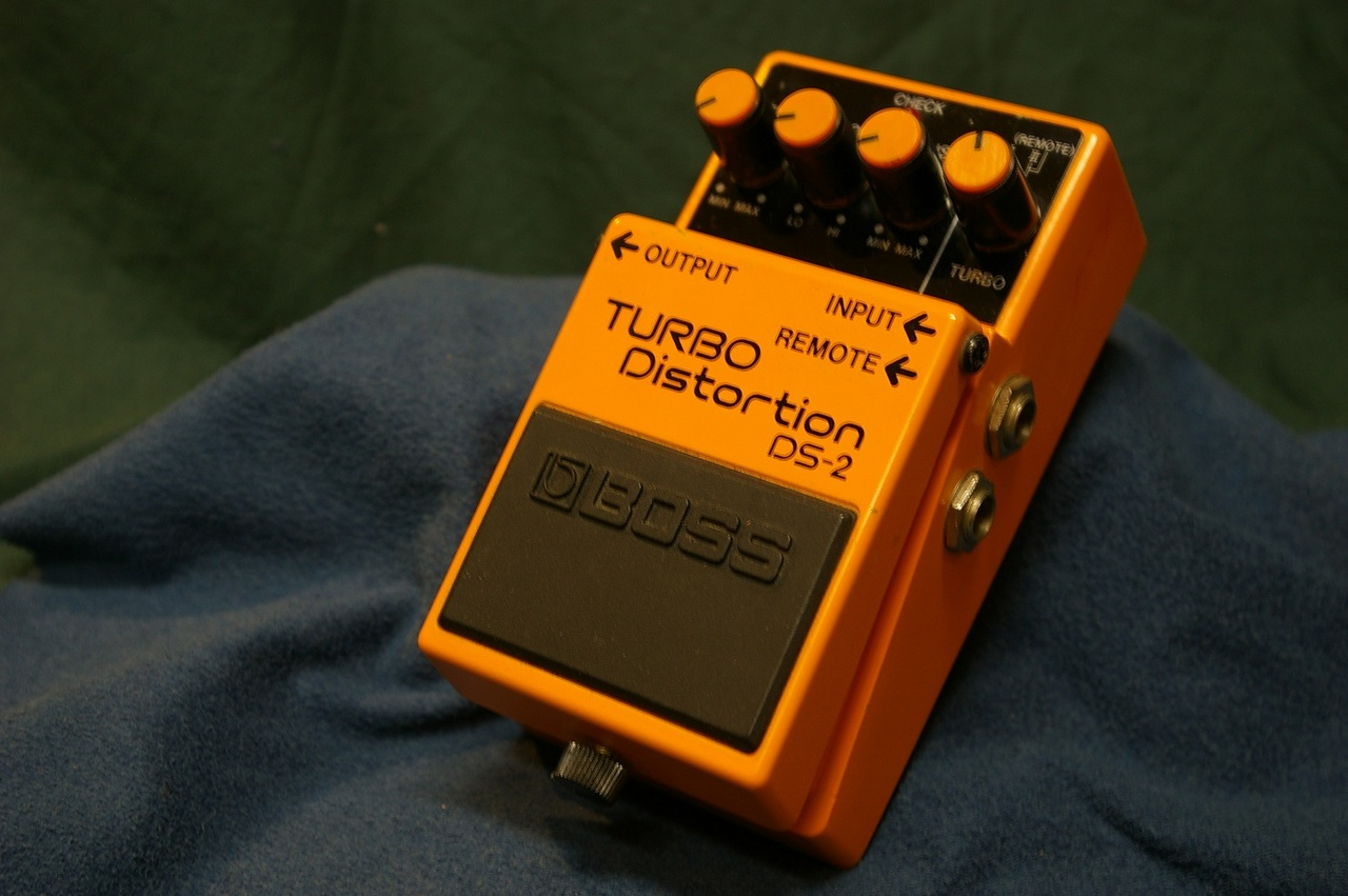 "BOSS DS-2 Distortion ""made in taiwan"""