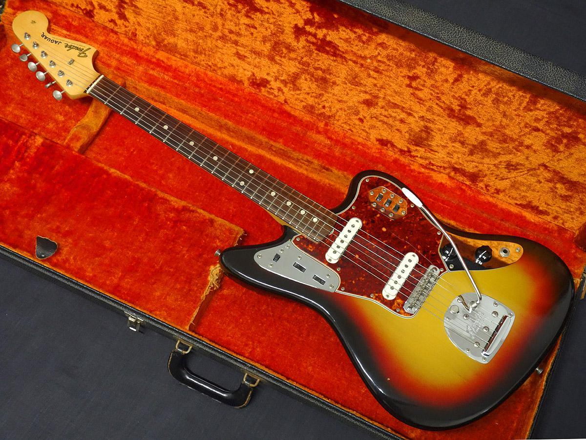 Fender Jaguar Sunburst - Made in 1965] [Gifu shop]