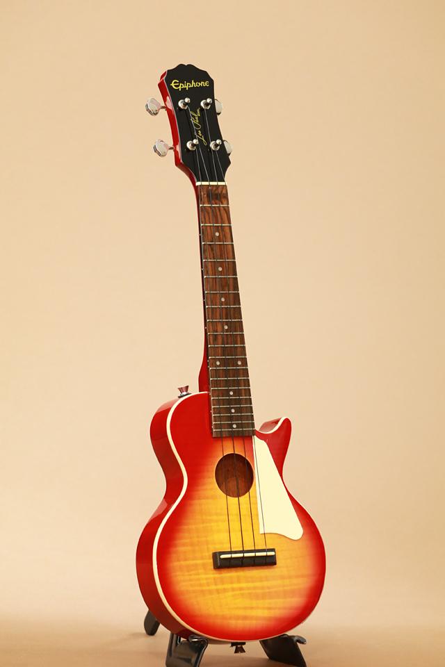 Epiphone Epiphone Les Paul Acoustic / Electric Concert Ukulele (Heritage Cherry Sunburst)