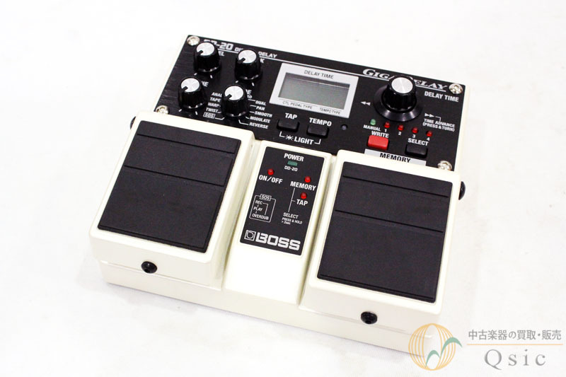 BOSS DD-20 GIGA DELAY made 2013 [QD762]