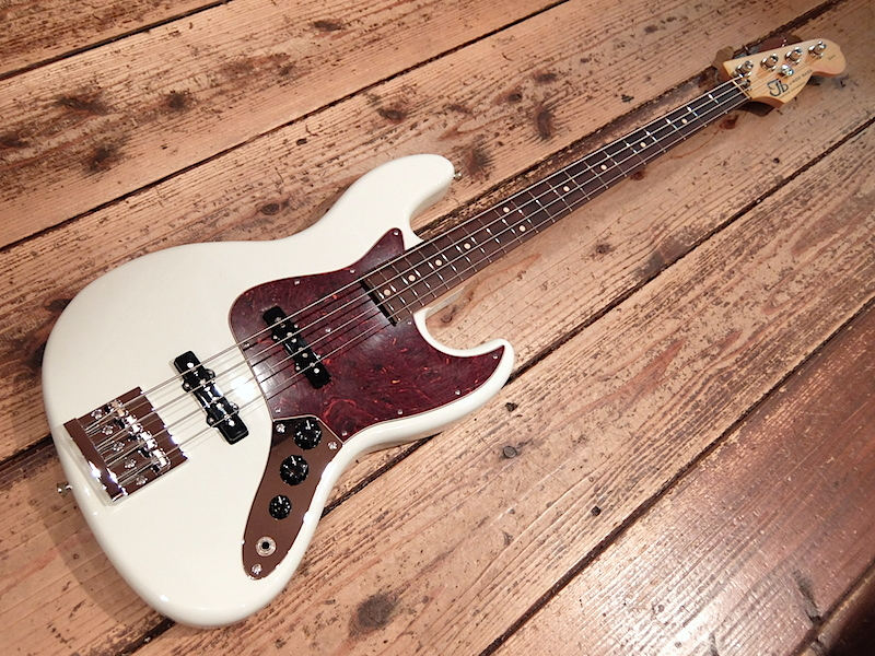 TB Guitarworks J-MOD BASS 344 Olympic White