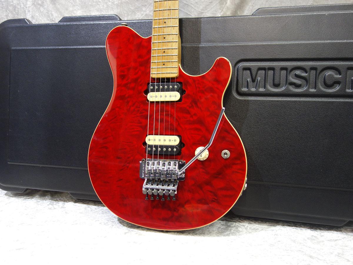 MUSIC MAN AXIS Trans Red【18回迄金利手数料無料!】
