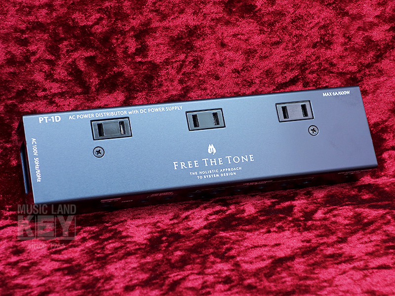 Free The Tone AC POWER DISTRIBUTOR PT-1D [popular power supply re-stock!]